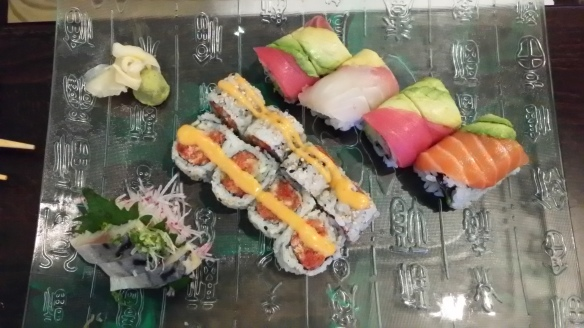 Rainbow Roll and Spicy Tuna Roll.jpg
