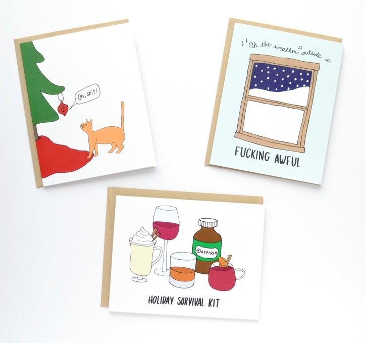 Holiday Cards Row House 14