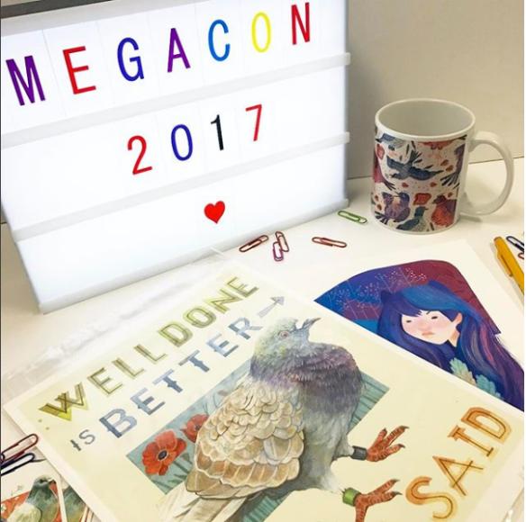 Mighty Pigeon - Megacon 2017