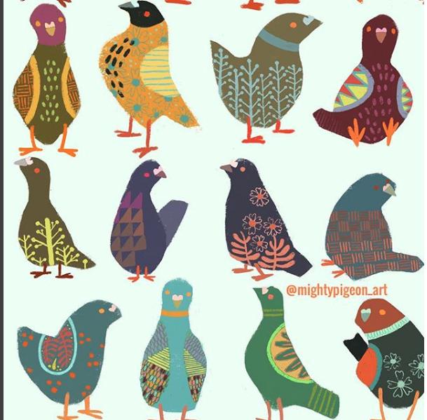 Mighty Pigeon -Pigeons