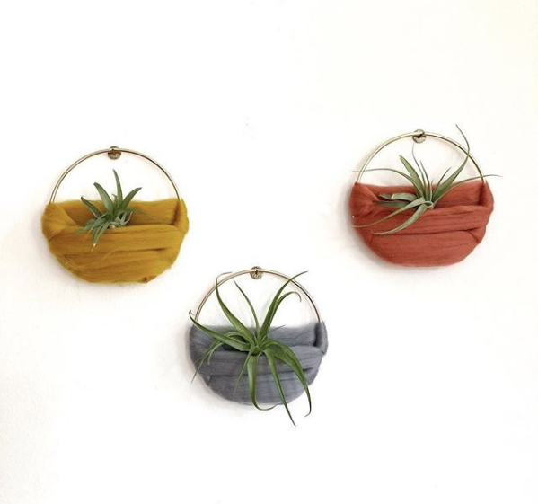 Air Plant Wall Hanging Ore + Wool