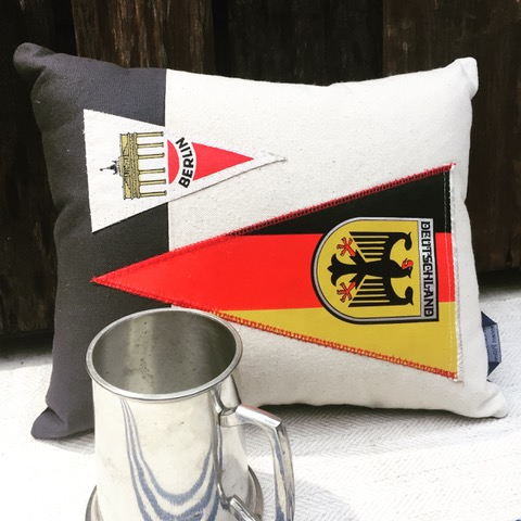 Germany Pillow American Roadtrip Pillows