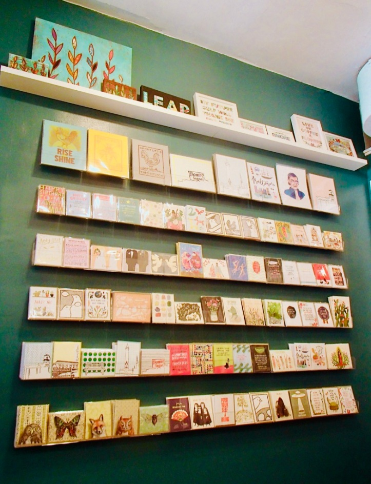 Card Wall, Found Studio / Shop