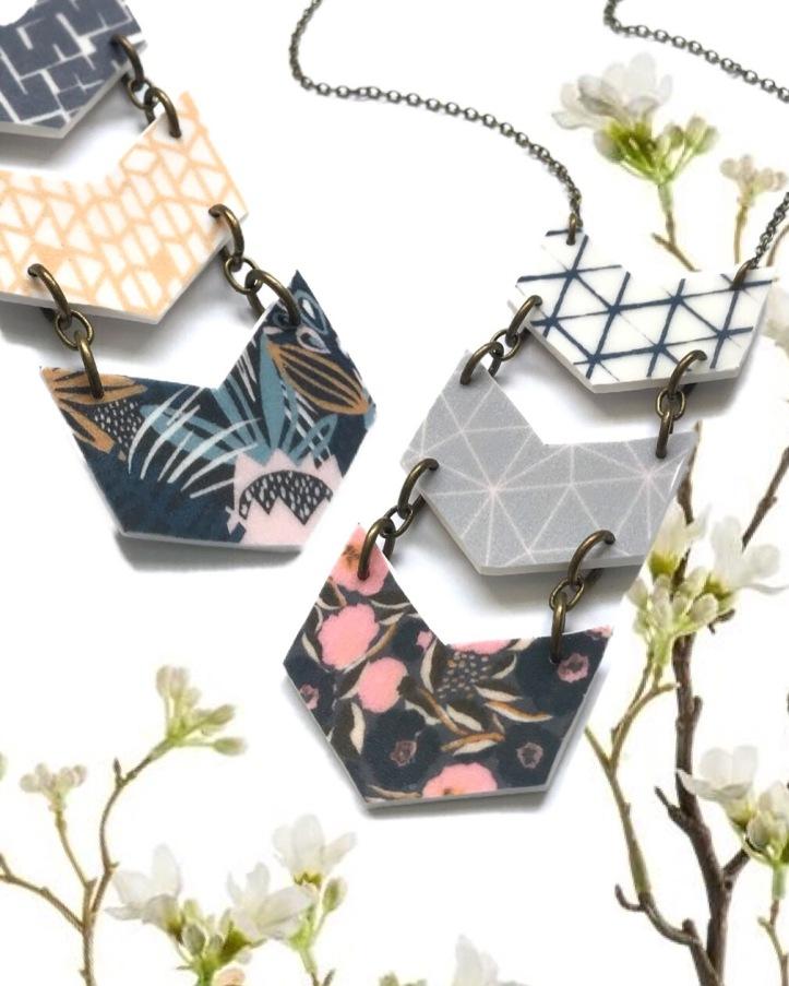 Sun Ah Blair Bowline Necklaces
